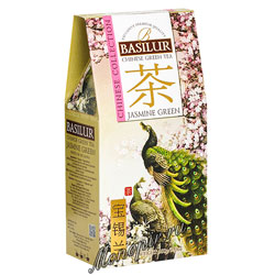 Чай Basilur Китай Зеленый с жасмином 100 гр