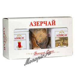 Чай Азерчай черный Подарочный набор