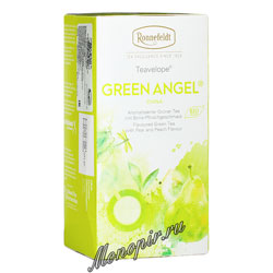 Чай Ronnefeldt Green Angel BIO/Зеленый Ангел в индивидуальной упаковке