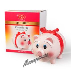 Ти Тэнг Свинка черный чай 50 гр в под. упаковке