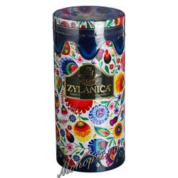 Чай Zylanica Folk Blue OPA черный 100 г ж.б со свечкой