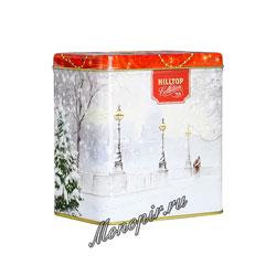 Чай Hilltop Музыкальная шкатулка Заснеженный город 100 гр