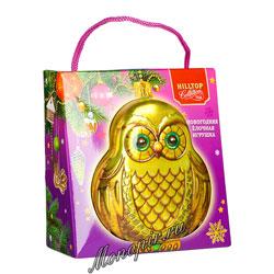 Чай Hilltop Королевское золото Елочная игрушка Сова 50 гр