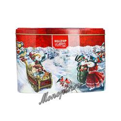 Чай Hilltop Королевское золото Снеговики Овал 100 гр