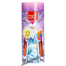 Чай Hilltop Праздничный вечер Земляника со сливками 100 гр