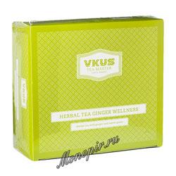 Чай Vkus Травяной Имбирный в пирамидках 50 шт