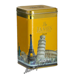 Чай James Grandfather FBOP Черный, ж.б. 200 гр