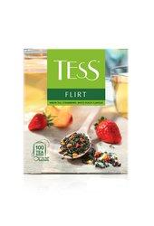 Чай Tess зеленый Flirt 100 пак.
