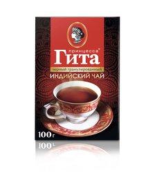 Чай Принцесса Гита Гранулированный Листовой Черный 100 гр