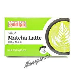 Чай Gold Kili. Напиток латте Матча (10 стиков по 25 гр)