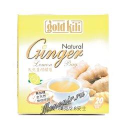 Чай Gold Kili Имбирь натуральный с лимоном (20 саше по 4 гр)