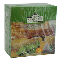 Ahmad Tea в пирамидках Key Lime Pie