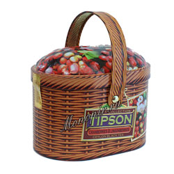 Tipson Basket Cranberries & Lingon berries 100 гр