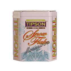 Tipson Снежинка Белая железная банка 100 гр