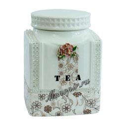London Tea Club Молочный улун 100 г в фарфоровой чайнице