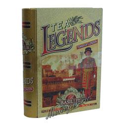 Basilur Чайная книга Чайные легенды Лондонский Тауэр 100 гр