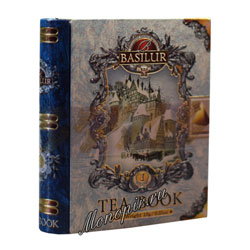 Чай Basilur Чайная книга в пирамидках Том 1/Miniature Tea Book I 2г.*5 ж/б