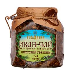 Река жизни Иван-Чай Пихтовый Гребень стекло 112 гр