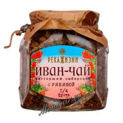 Река жизни Иван-Чай Рябина стекло 112 гр