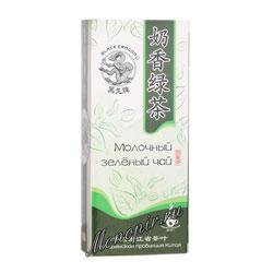 Черный Дракон Молочный зеленый чай 25 пакетиков