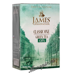 James Grandfather Greentea 100 гр