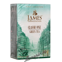 James Grandfather Greentea 200 гр