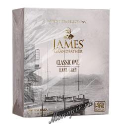 James Grandfather BTEGDCS&T Черный Бергамот Пакетик 100 шт