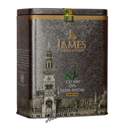 James Grandfather OPA Soure Tin Черный ж.б. 150 гр