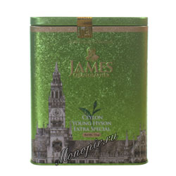 James Grandfather Greentea Soure Tin ж.б. 150 гр