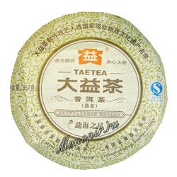 Пуэр блин Tae Tea  357 г (шу)