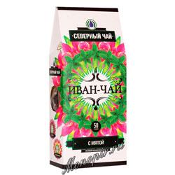 Северный чай Иван-Чай листовой ферментированный с мятой