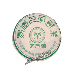 Пуэр блин И Чанг Хао Шен 2001 г 357гр