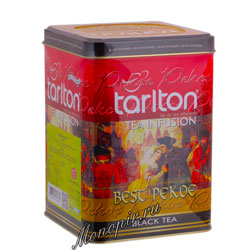 Чай Tarlton черный PEKOE 250 гр ж.б.