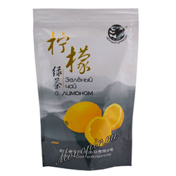 Чай Черный дракон Зеленый с Лимоном 100 гр