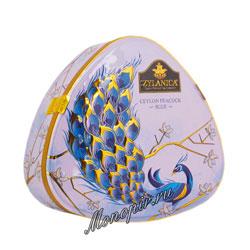 Чай Zylanica Peacock Blue (Павлин) Earl Gray FBOP черный с бергамотом 100 гр ж.б