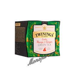 Чай Twinings Экзотическое Манго и Имбирь (15 пакетиков)