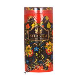 Чай Zylanica Folk Orange OPA черный 100 г ж.б со свечкой