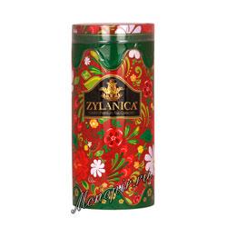 Чай Zylanica Folk Green OPA черный 100 г ж.б со свечкой