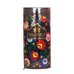 Чай Zylanica Folk Black OPA черный 100 г ж.б со свечкой