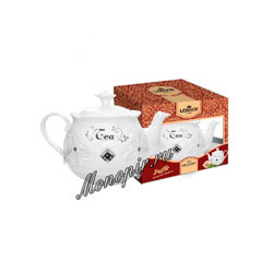 London Tea Club Черный Чай Трюфель 100 г в фарфоровом заварнике