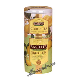 Basilur 2 в 1 Зеленый и Цитрусовый 125 гр