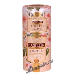 Basilur 2 в 1 Димбула и Английская Роза 125 гр
