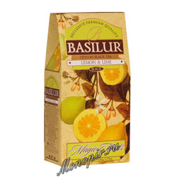 Basilur Волшебные фрукты Лимон и Лайм 100 гр