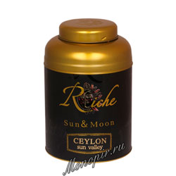 Чай черный Riche Natur Ceylon Sun Valley 400 гр ж.б.