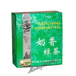 Черный Дракон Молочный зеленый чай 100 пакетиков