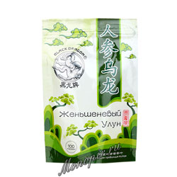 Черный дракон Улун Женьшень 100 гр