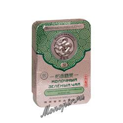 Черный Дракон Прессованный зеленый молочный 60 гр ж/б