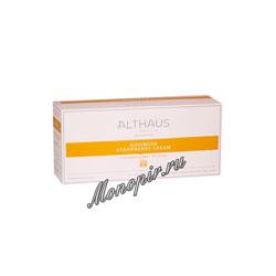 Чай Althaus для чайника Rooibush Strawberry Cream 20x4 гр