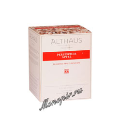 Чай Althaus Persischer Apfel пирамидки 15x2,7 гр