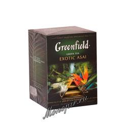 Чай Greenfield Exotic Asai Пирамидки